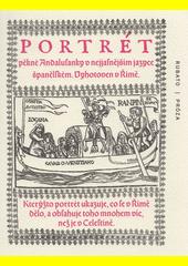 Portrét pěkné Andalusanky  (odkaz v elektronickém katalogu)