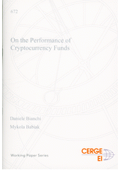 On the performance of cryptocurrency funds  (odkaz v elektronickém katalogu)