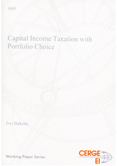 Capital income taxation with portfolio choice  (odkaz v elektronickém katalogu)