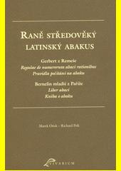 Raně středověký latinský abakus  (odkaz v elektronickém katalogu)