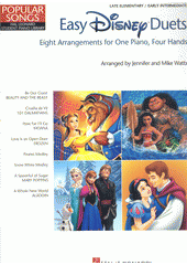 Easy Disney Duets : 8 arrangements for 1 piano, 4 hands (odkaz v elektronickém katalogu)