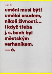 Pracoval jsem mnoho : soupis výtvarného díla Josefa Čapka. Díl druhý, Užitá kresba  (odkaz v elektronickém katalogu)