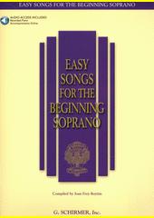 Easy songs for the beginning soprano (odkaz v elektronickém katalogu)