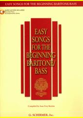 Easy songs for the beginning baritone  (odkaz v elektronickém katalogu)