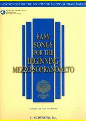 Easy Songs for the Beginning Mezzo-Soprano (odkaz v elektronickém katalogu)