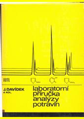 Laboratorní příručka analýzy potravin  (odkaz v elektronickém katalogu)