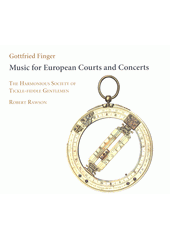 Music for European Courts and Concerts  (odkaz v elektronickém katalogu)