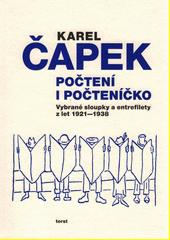 Počtení i počteníčko : vybrané sloupky a entrefilety z let 1921-1938  (odkaz v elektronickém katalogu)