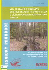 Vliv současné a modelové druhové skladby na odtok z lesa v dílčích povodích horního toku Moravy : soubor specializovaných map s odborným obsahem  (odkaz v elektronickém katalogu)
