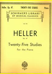 Twenty Five Studies For The Piano, Op. 47  (odkaz v elektronickém katalogu)