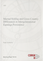 Marital sorting and cross-country differences in intergenerational earnings persistence  (odkaz v elektronickém katalogu)