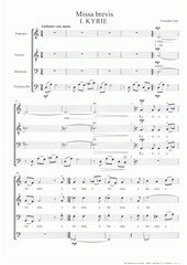 Missa brevis  (odkaz v elektronickém katalogu)
