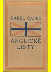 Anglické listy : pro větší názornost provázené obrázky autorovými  (odkaz v elektronickém katalogu)