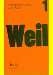 Reportáže a stati : 1920-1933  (odkaz v elektronickém katalogu)