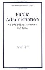 ADMINISTRATION-A PUBLIC FERREL PDF PERSPECTIVE HEADY COMPARATIVE