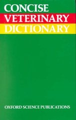 Concise veterinary dictionary