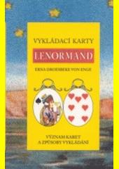 Vykládací karty Lenormand  (odkaz v elektronickém katalogu)