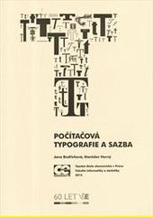 Počítačová typografie a sazba  (odkaz v elektronickém katalogu)