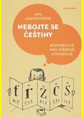 Nebojte se češtiny : konverzace pro středně pokročilé  (odkaz v elektronickém katalogu)