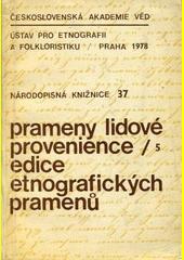 Lidové kronikářství na Poděbradsku  (odkaz v elektronickém katalogu)